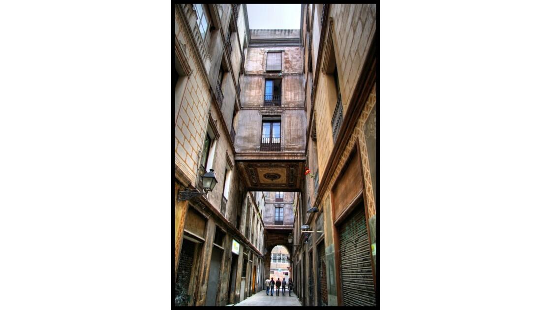 Le Barrio Gotico à Barcelone