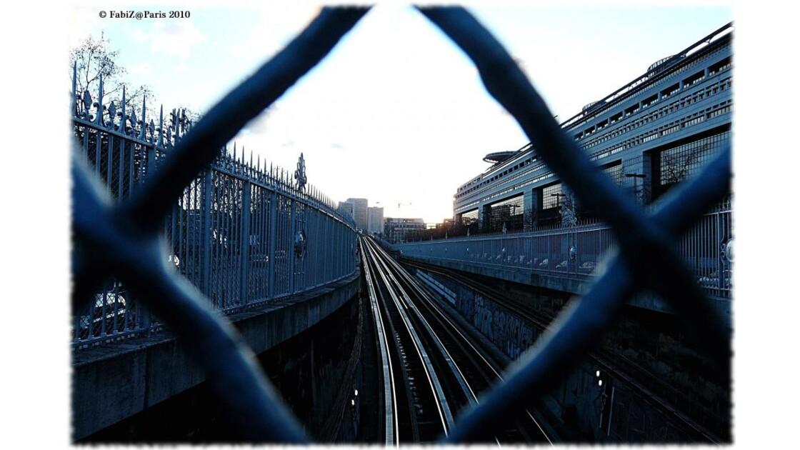 A Peek on the railway & Bercy