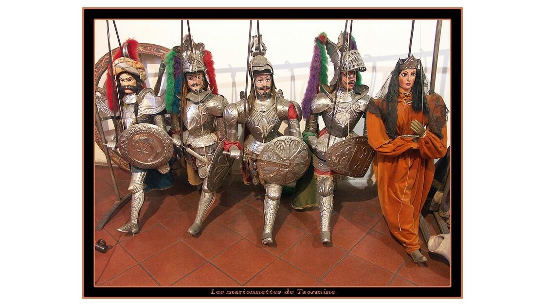 Les marionnettes de Taormine