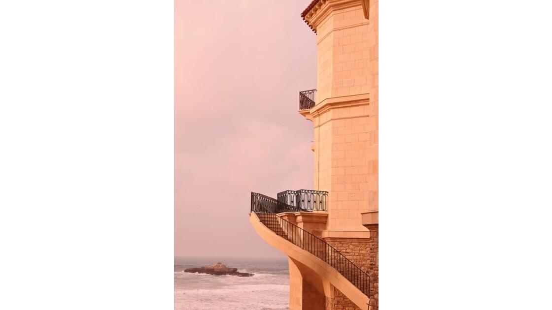 balcon sur l'Atlantique !