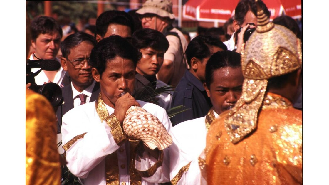 Cambodge culture du riz 4 sillon sacré