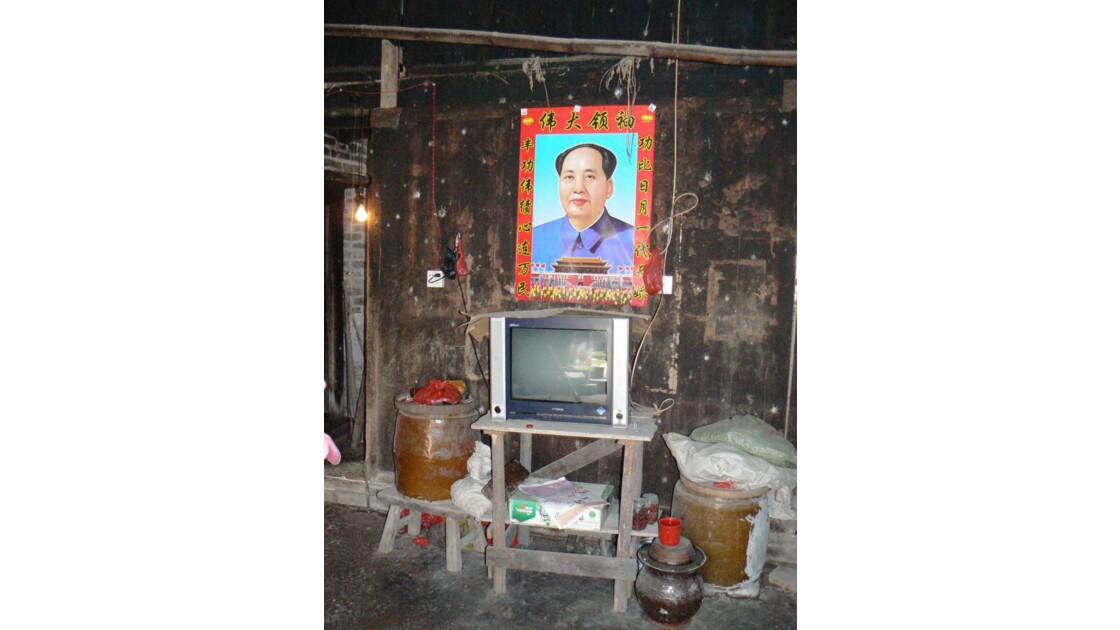 Mao toujours présent  - Liu Gong - Chin