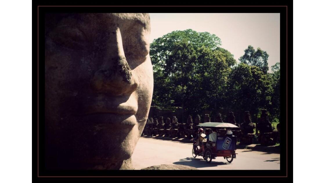 Porte Sud, Angkor Thom