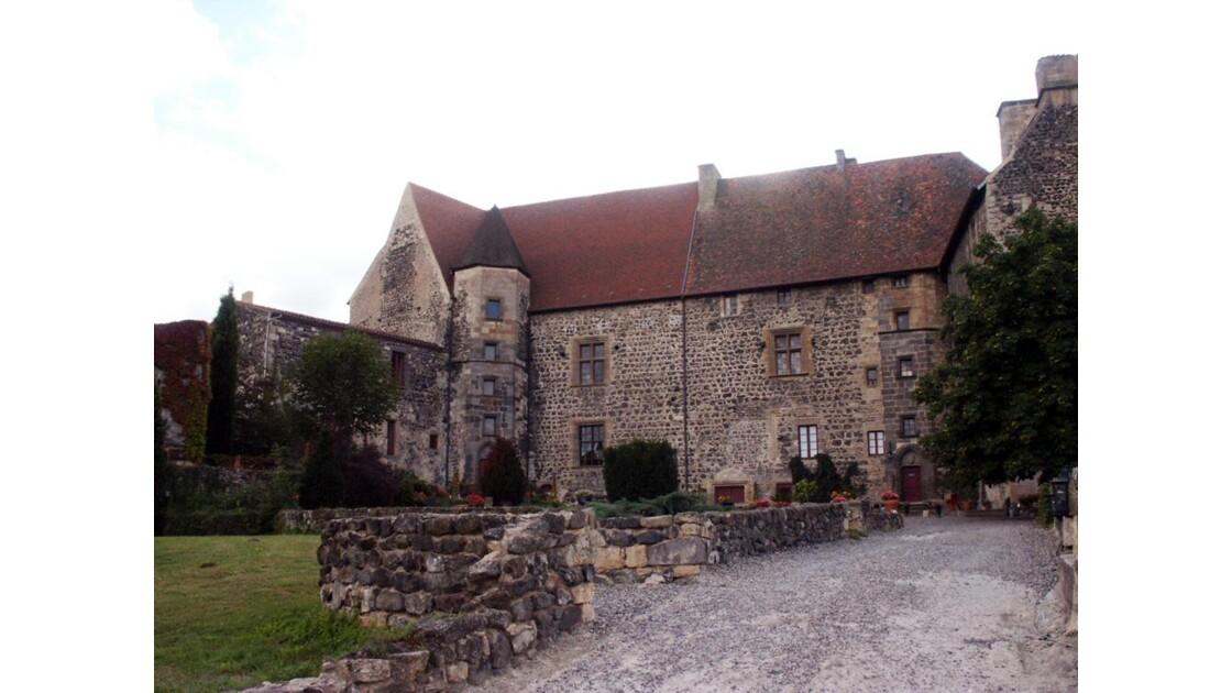 L' arrière du  Château