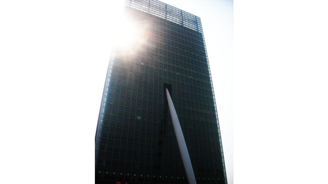Immeuble contemporain, Rotterdam
