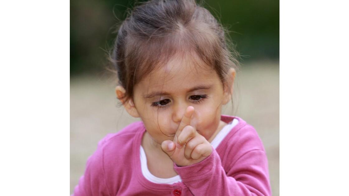 le doigt de Lili