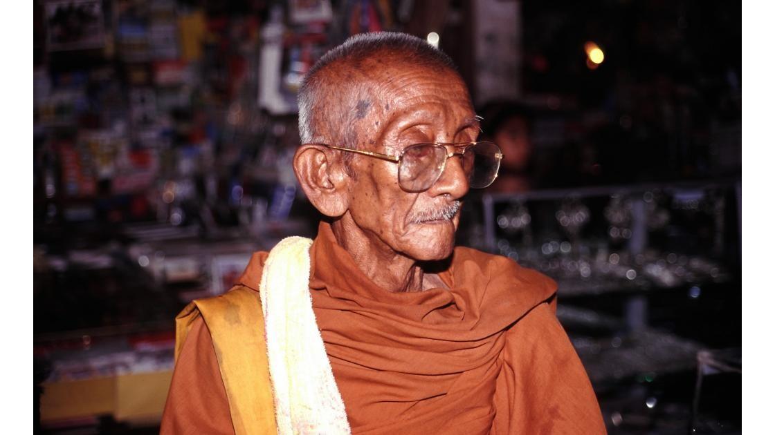 Cambodge portrait 4 de moine bouddhiste