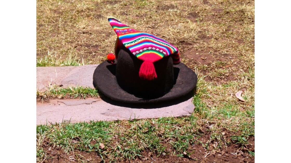 Le chapeau du maire de l'île