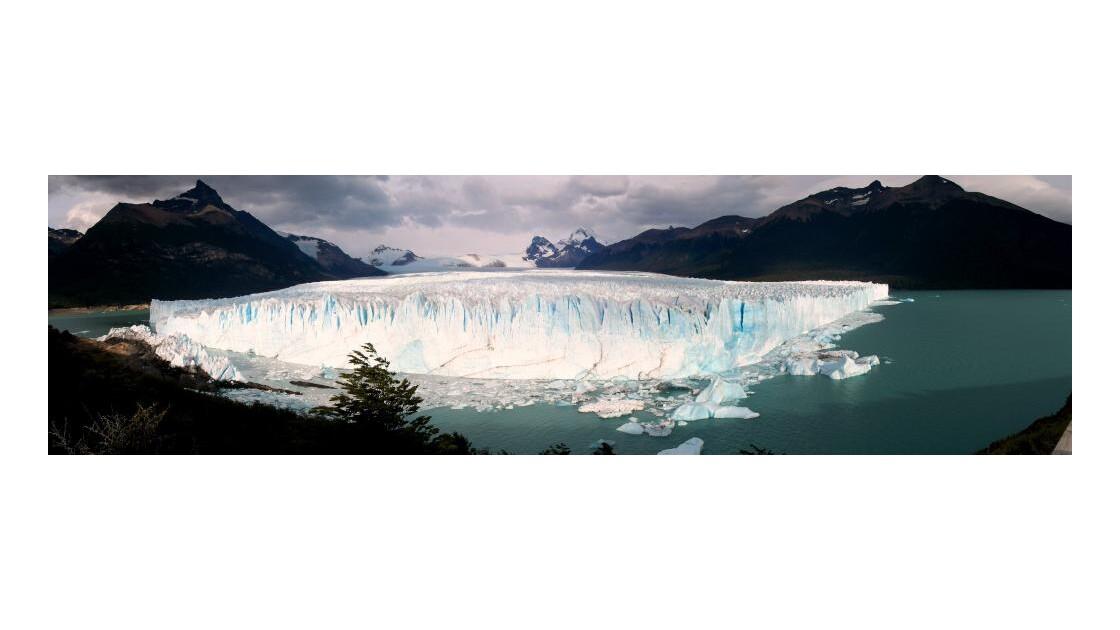 panoramique Perito Moreno