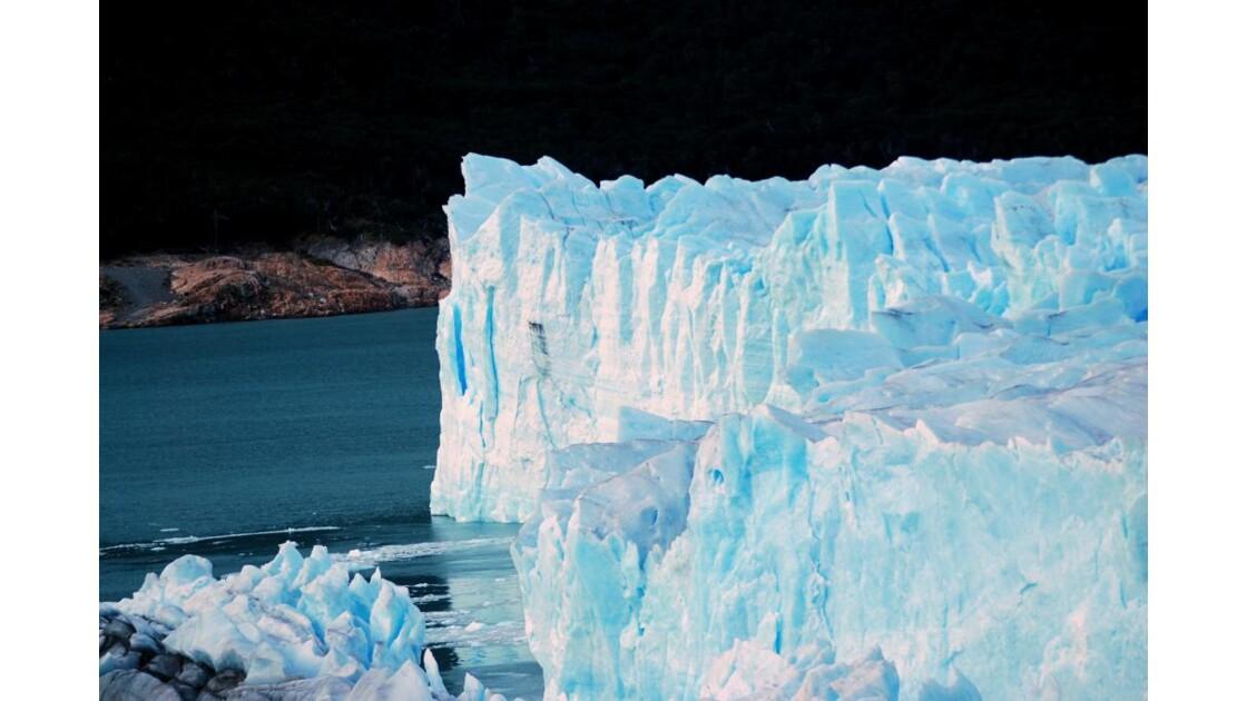lever de soleil sur glace