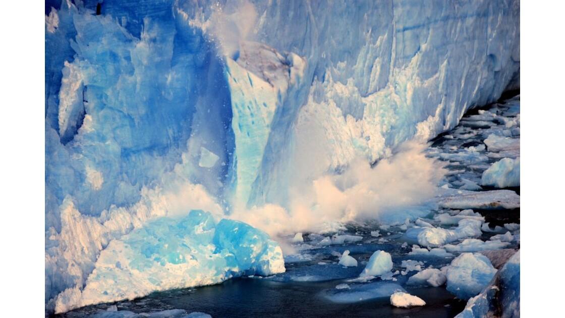 chute de glace