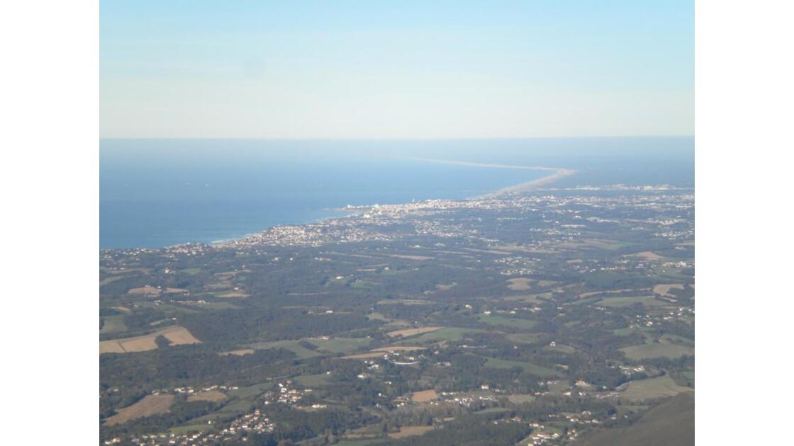 Biarritz puis les landes