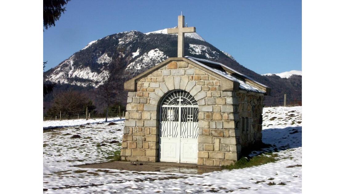La Chapelle et le Puy de Dôme