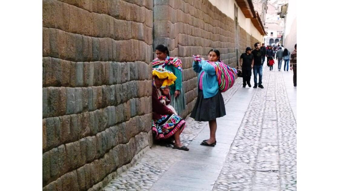 Cusco, scène de rue