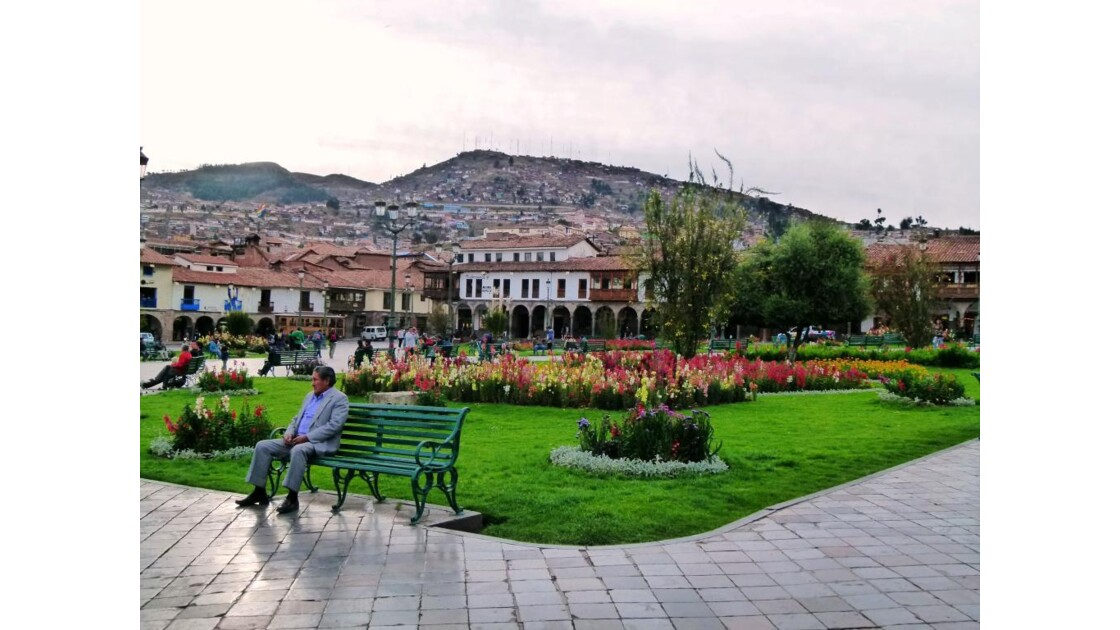 Cusco, plaza des armas