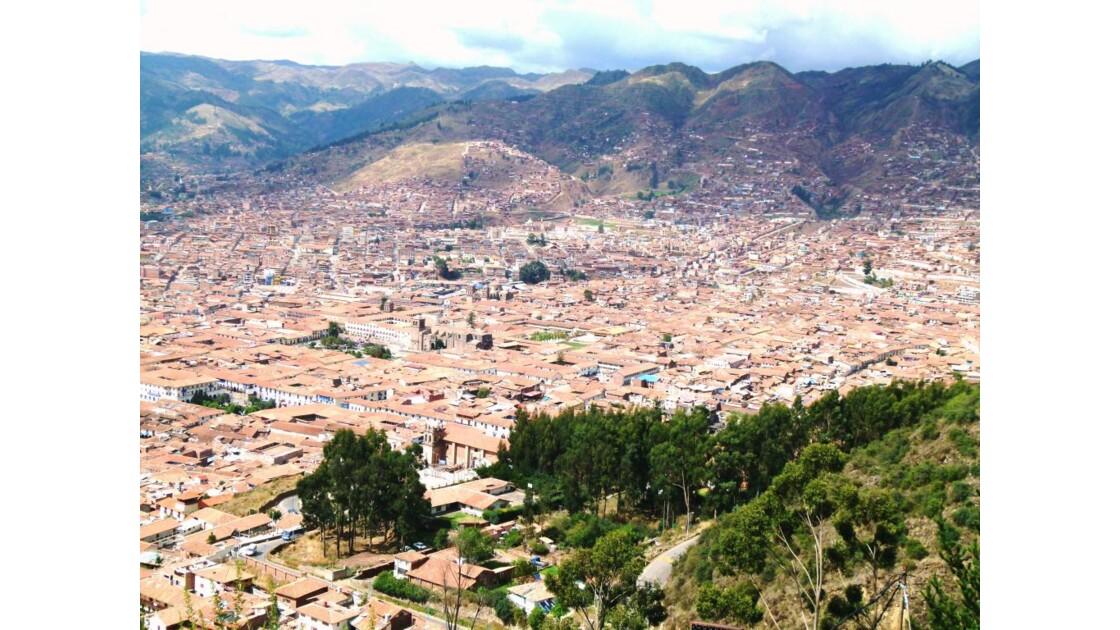 Cusco d'en haut