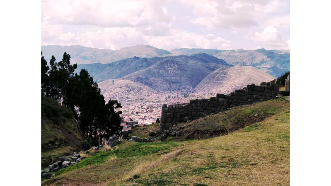 Vue sur Cusco