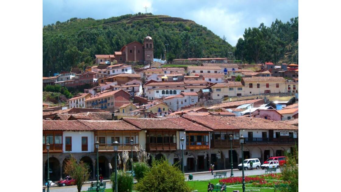 Cusco, depuis la plaza des armes