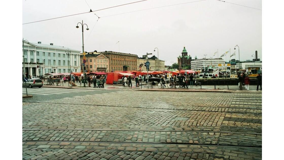 Place du marché d'Helsinki