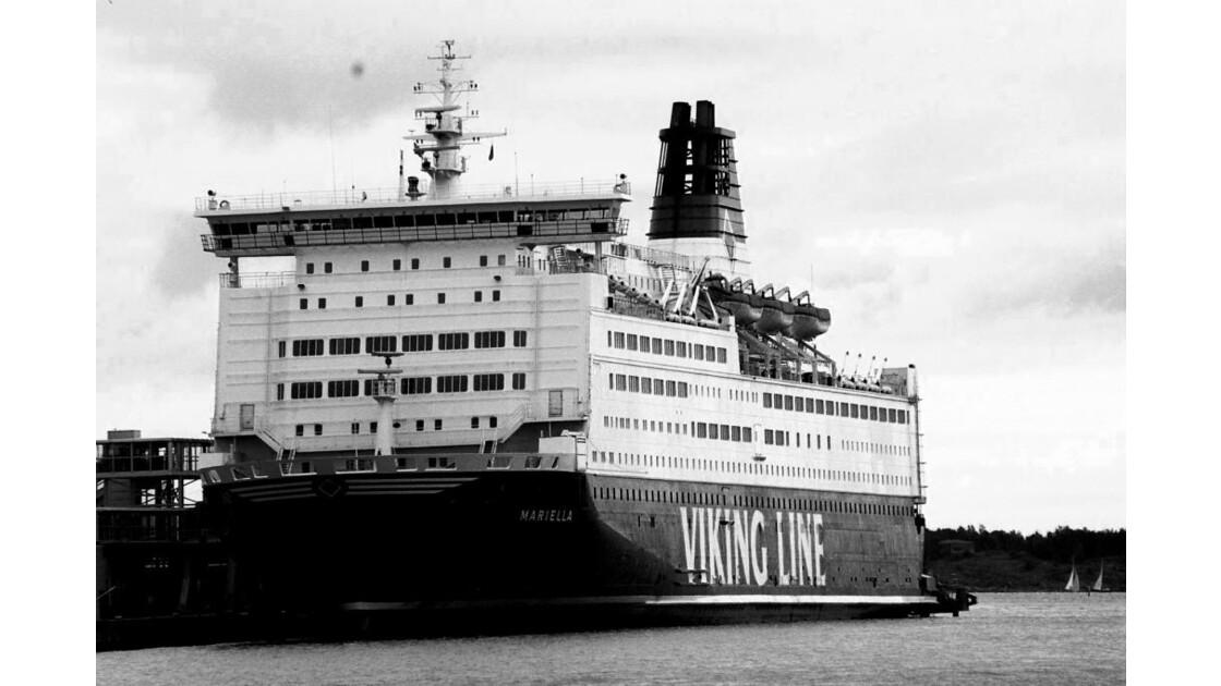 Ferry, port d'Helsinki