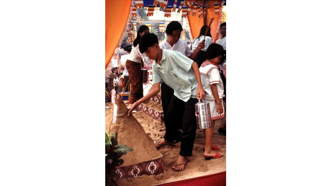 Cambodge Bouddhisme 36 nouvel an Khmer