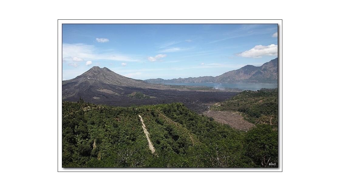 Mont Batur et Lac Batur