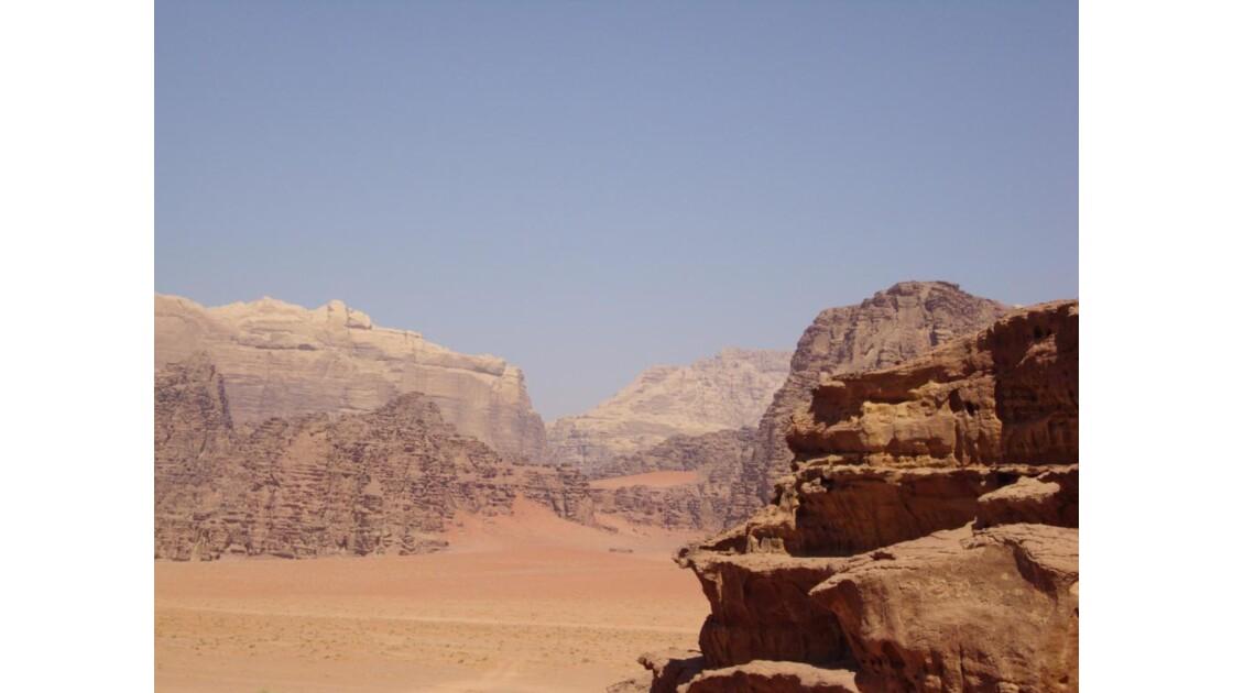 les djebels du Wadi Rum