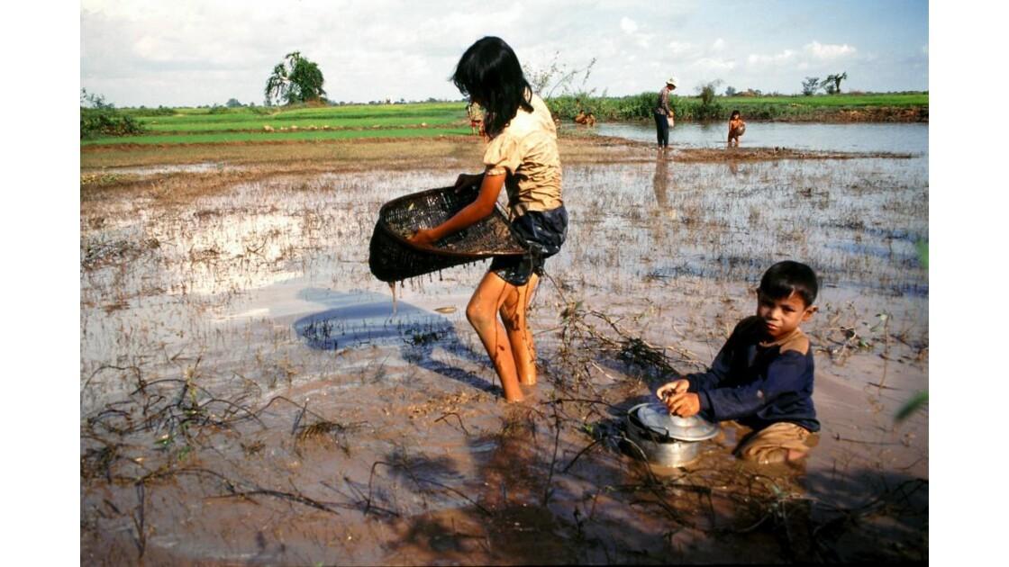 Cambodge petits pêcheurs 2