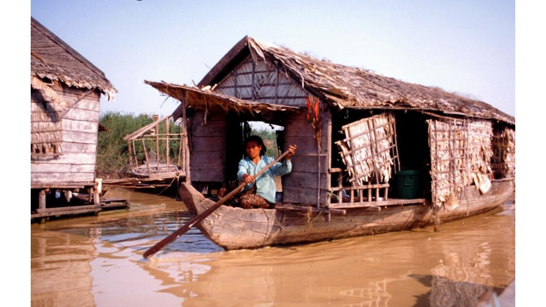 Cambodge village des pêcheurs