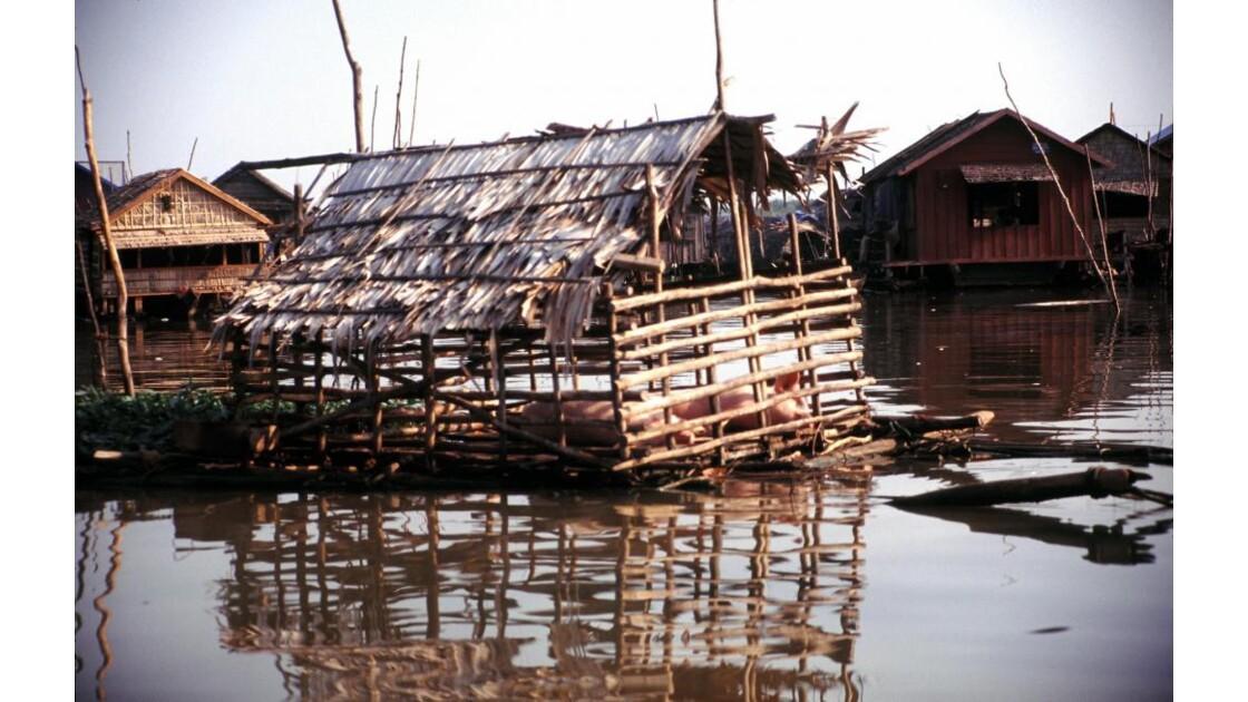 Cambodge village des pêcheurs2
