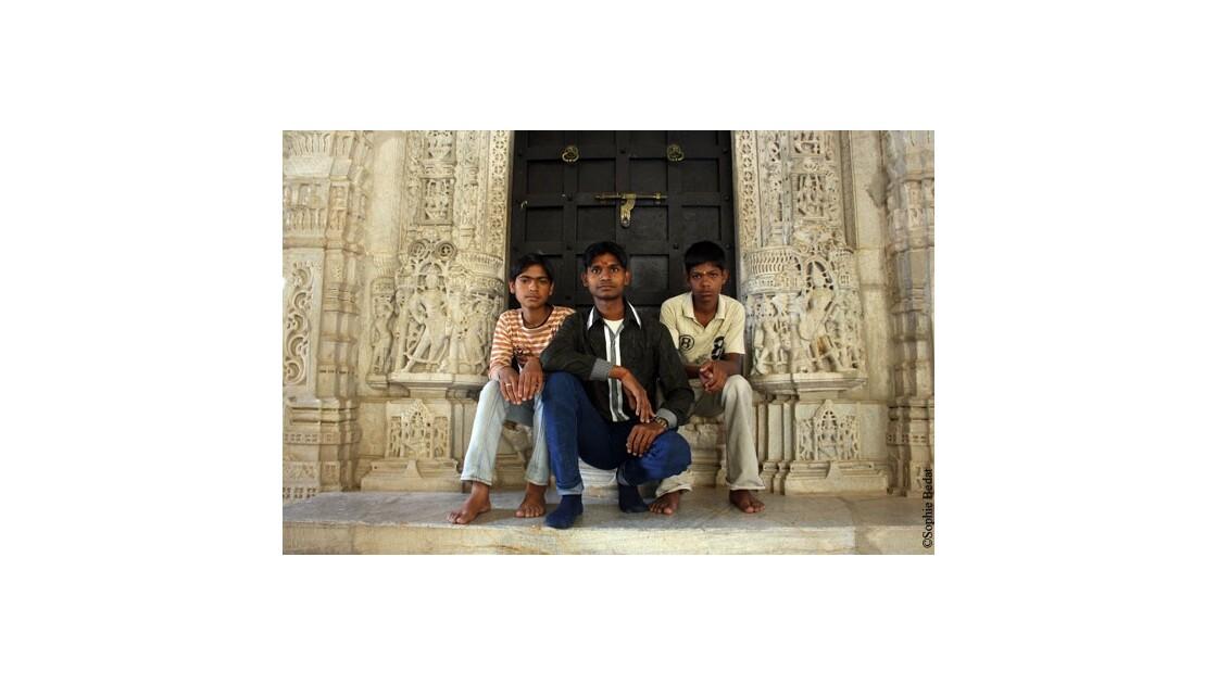 Ranakpur, garçons