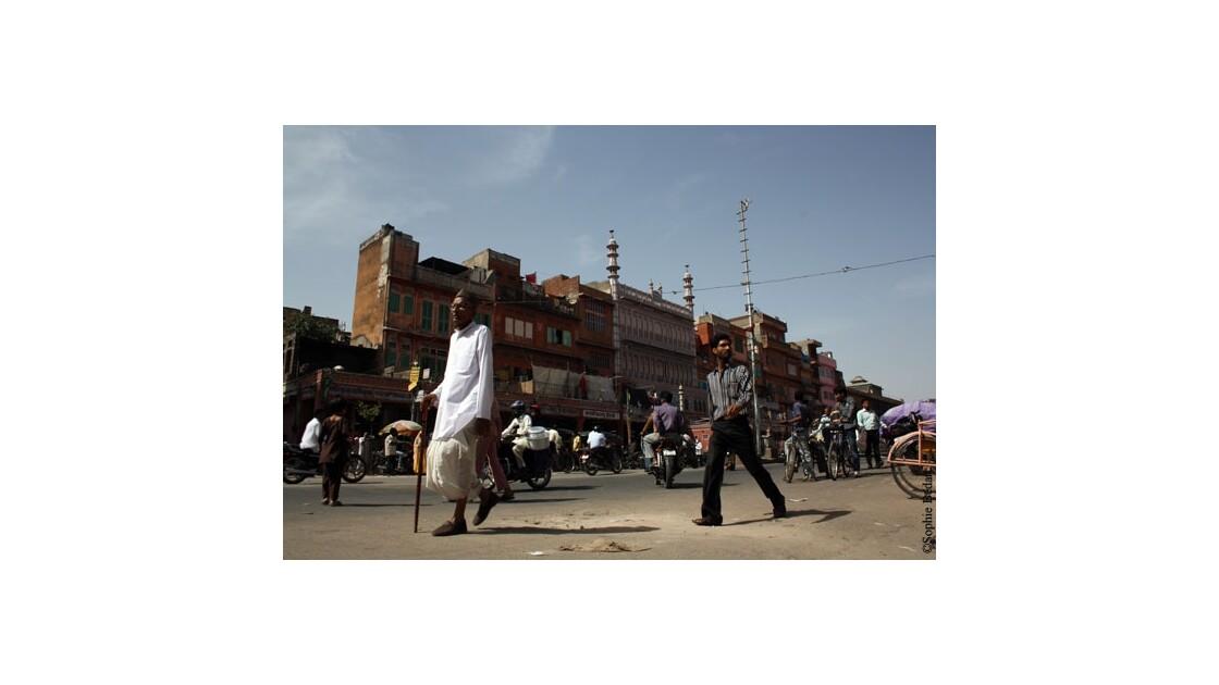 Jaïpur, scène de rue