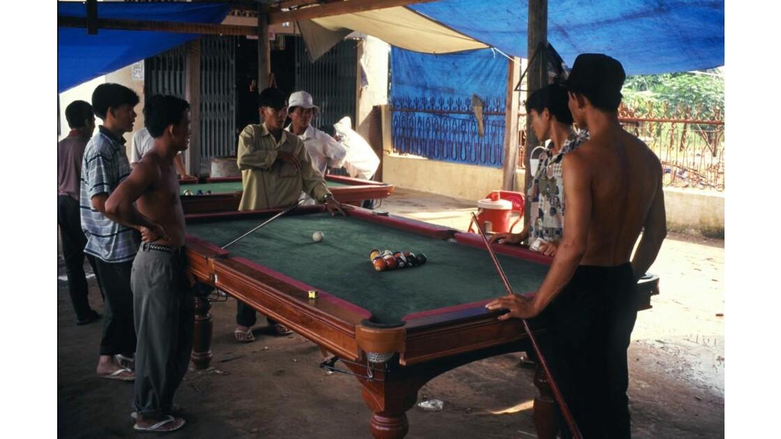 Cambodge jeu de billard