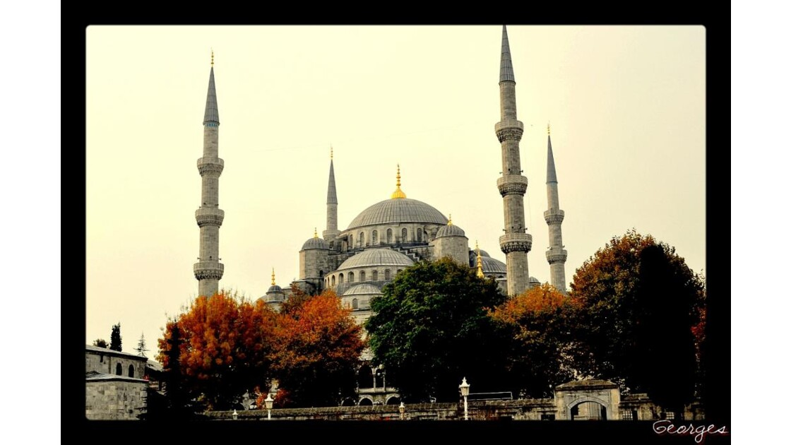 A Istambul ..La Mosquee Bleue.