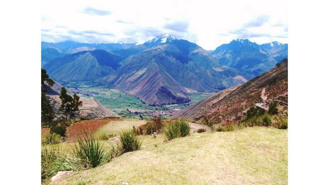 Vallée sacrée près d'Urubamba