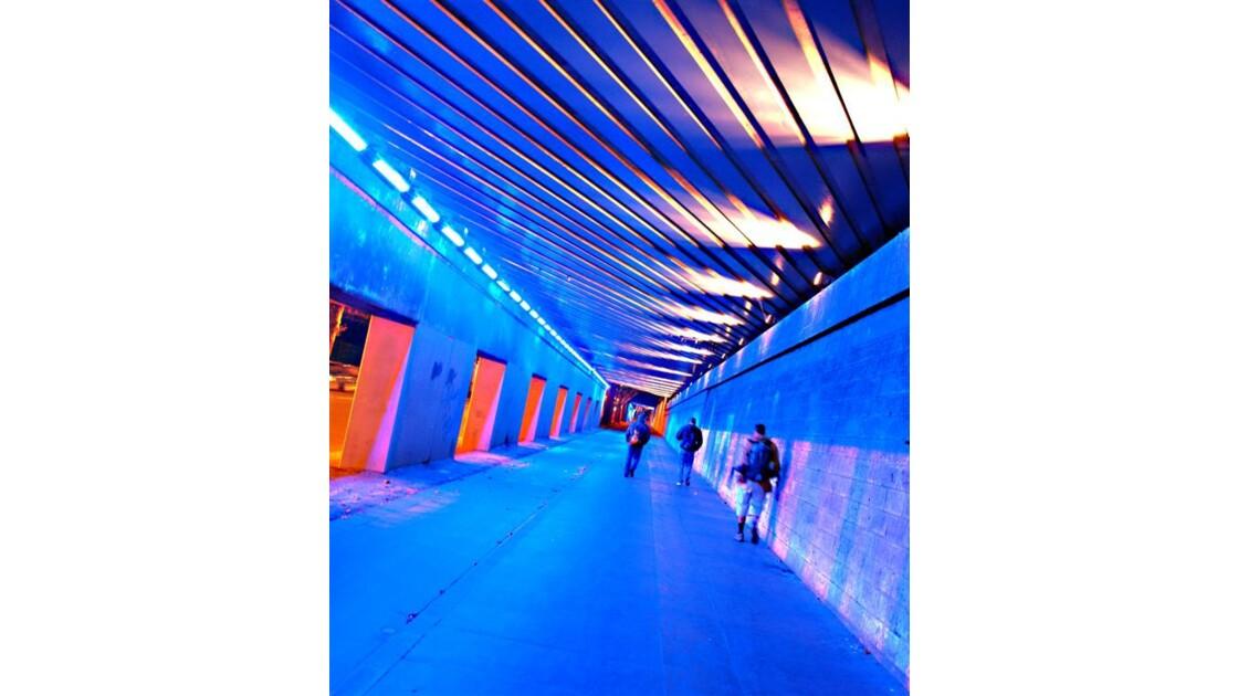 Bleu souterrain