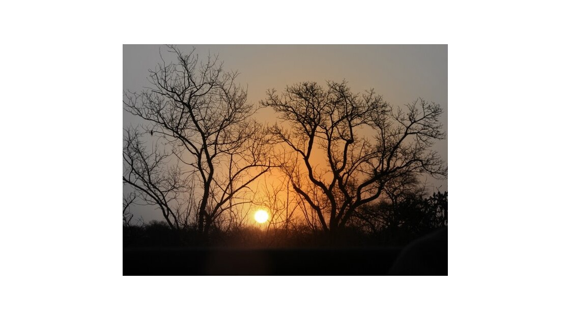 coucher de soleil sud afrique