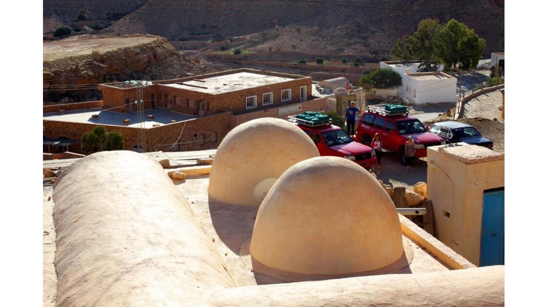 les toits tunisiens  bien spécifiques