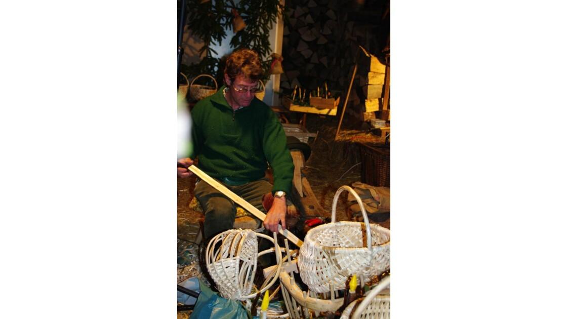 La fabrication des paniers