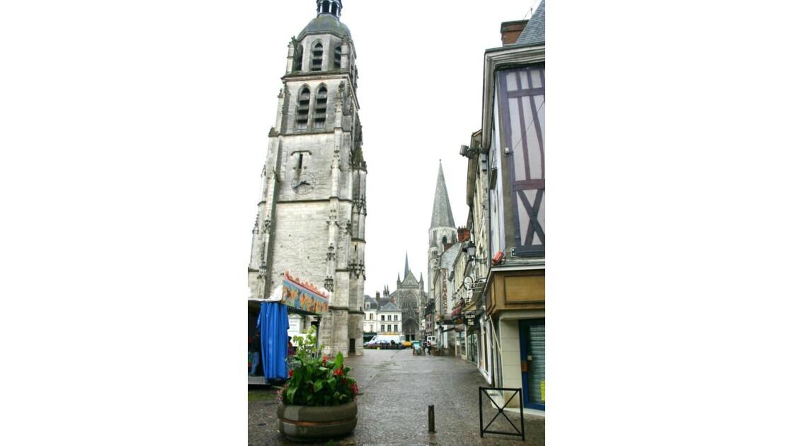 Vendôme:place St Martin