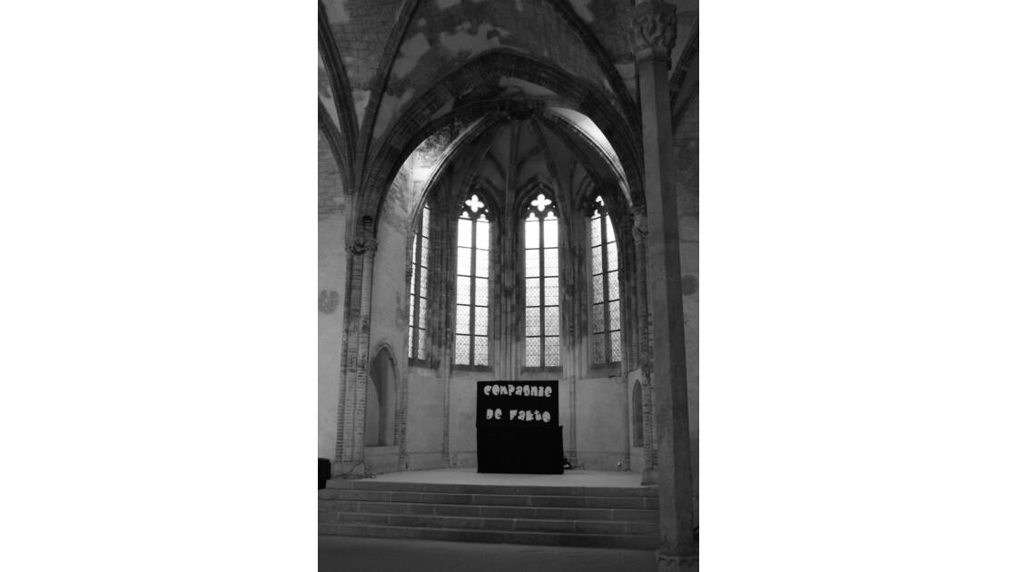 Tolosa-Danse aux Jacobins (scène)