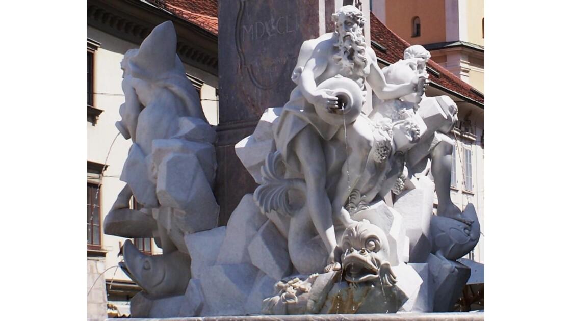 fontaine de Francesco Robba