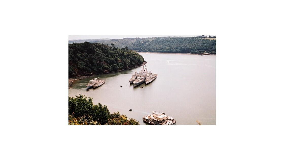 Cimetière de bateaux, Finistère