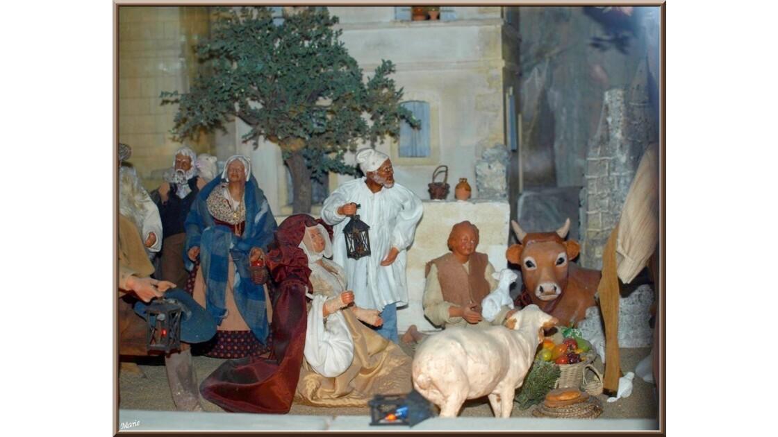 Musée des santons, scène pastorale