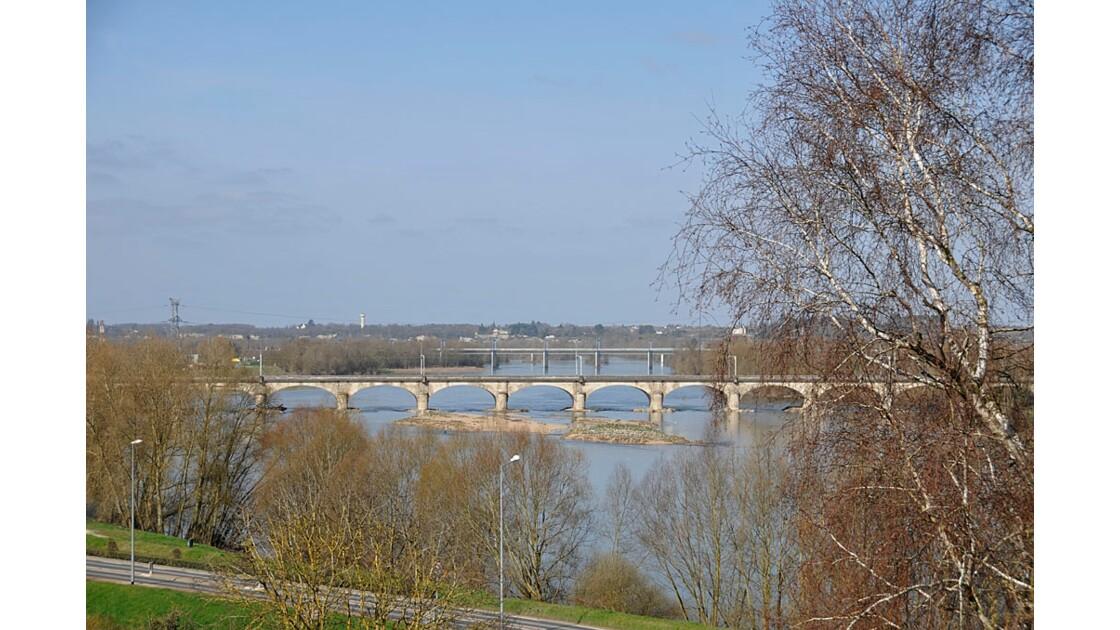 Vue sur la Loire.
