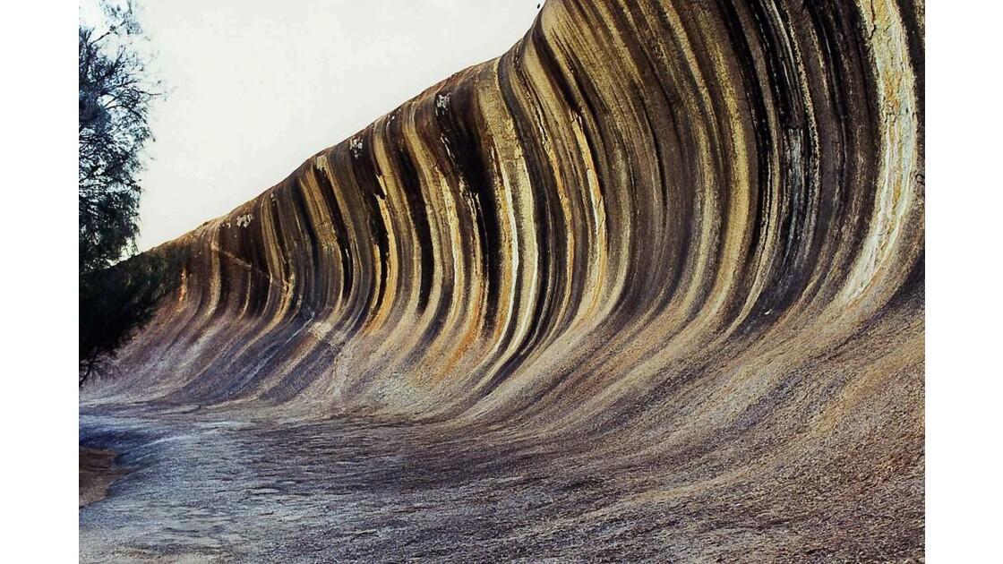 Australie. Wave rock. Février 2000