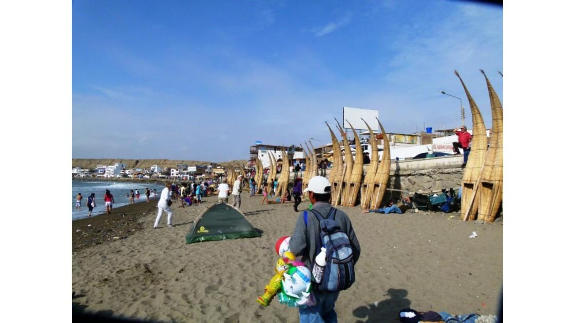 Huanchaco la plage