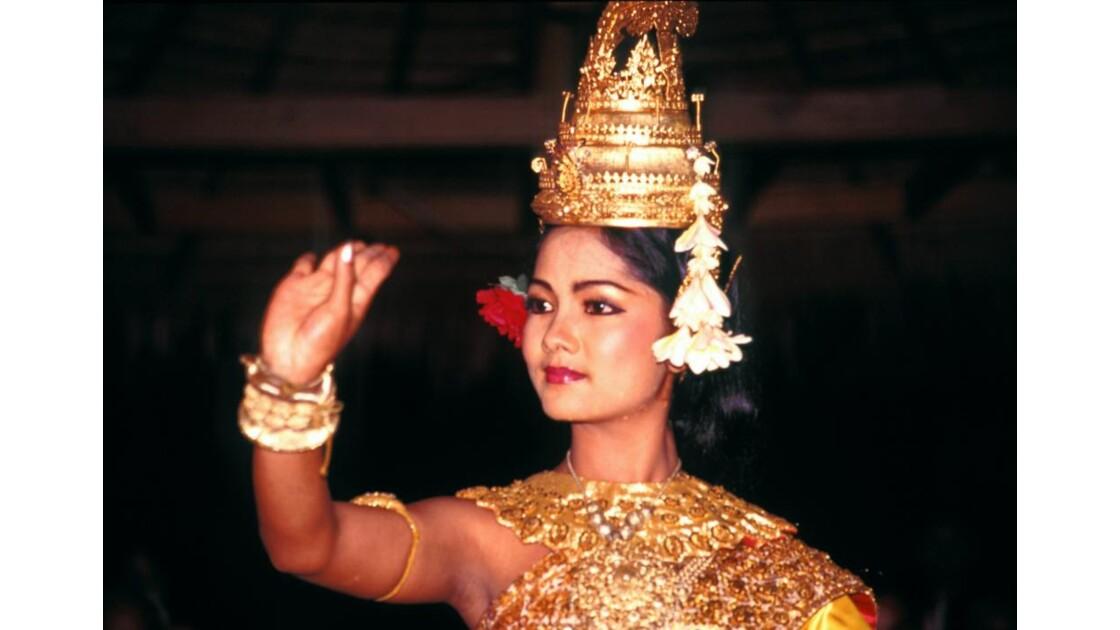 Cambodge danseuse du ballet royal
