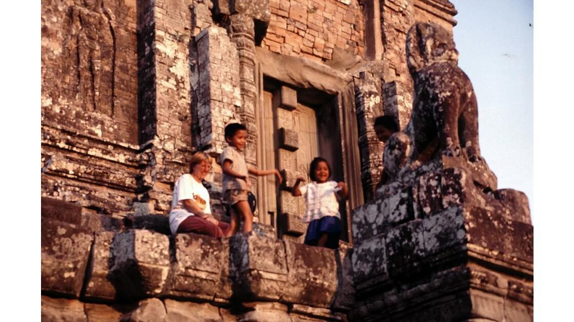 Cambodge danse 4 Rama et Sita à Angkor