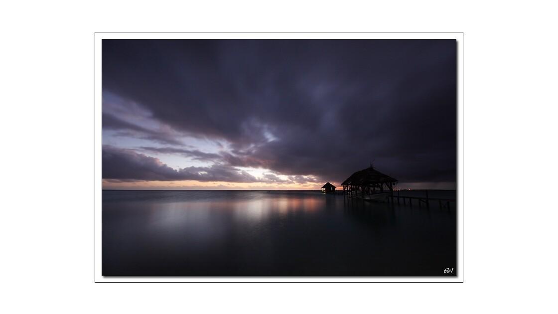 Polynésie - Fakarava - Coucher de solei